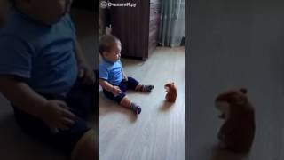 Ребёнок против говорящего хомяка