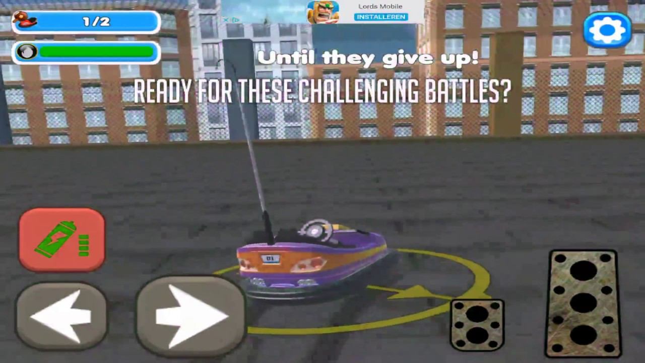 Bumper Cars Blocky Destruction Hd Gameplay Video Youtube