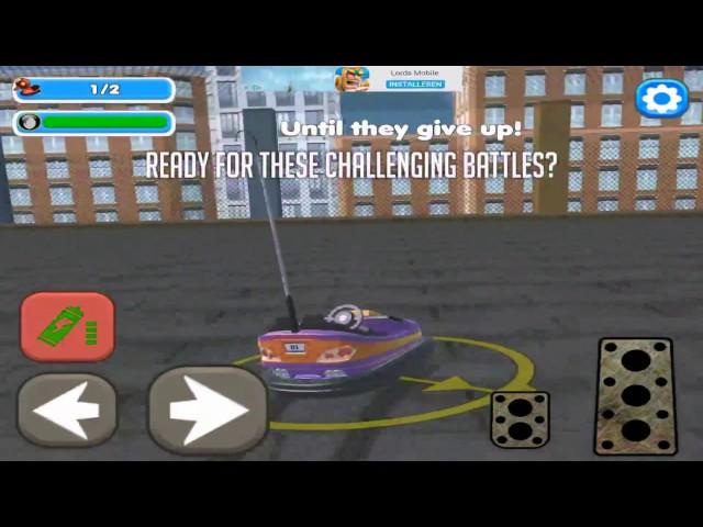 Bumper Cars Blocky Destruction - HD Gameplay video