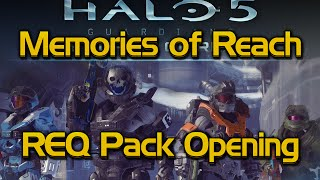 Halo 5 Memories of Reach REQ pack opening – Brute Plasma Rifle, Emile, Jorge, Jun armor & more