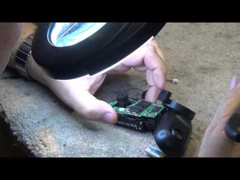 OJOCAM 0801 dash cam internal battery replacement
