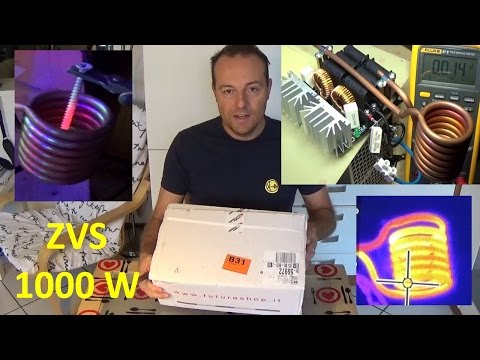 PierAisa #225: ZVS Induction Heater 1000W ElettronicaIN