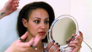 Eyebrow Tattoo with Amelle Berrabah Sugababes.mp4