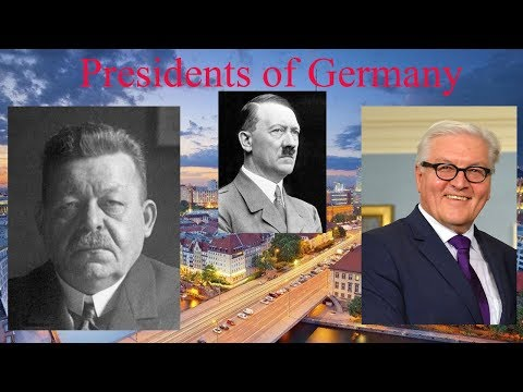 Presidents of Germany