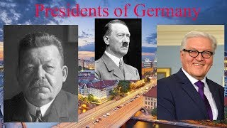 Presidents of Germany