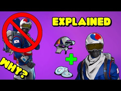 I Didn't Get The FREE KOREAN ALPINE ACE SKIN In Fortnite *EXPLAINED*