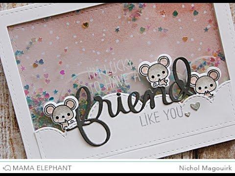 Mama Elephant Stamp Highlight | Friend Indeed