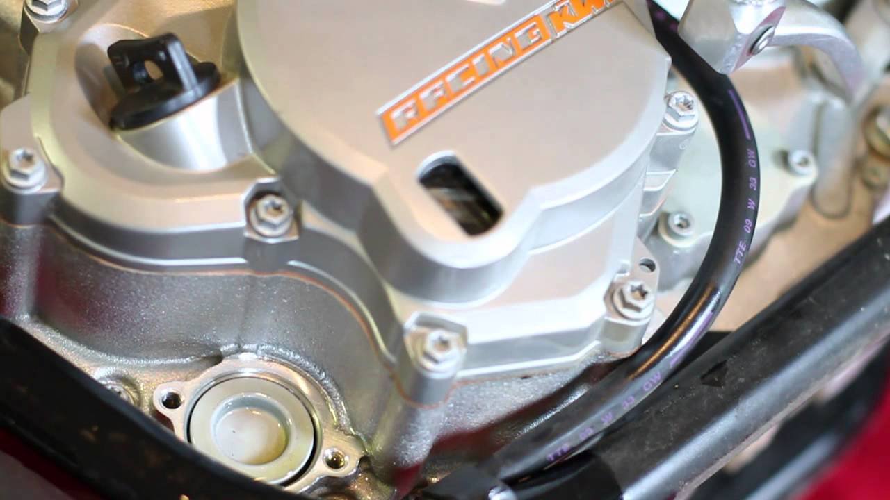 How-To: 2011 KTM 530 EXC oil change