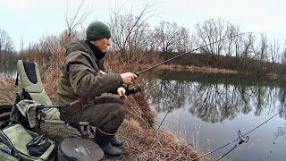 Неожиданный улов Ловля на пикер ранней весной на реке