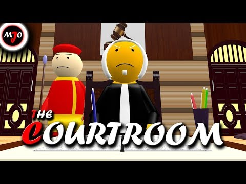 MAKE JOKE OF - THE COURTROOM