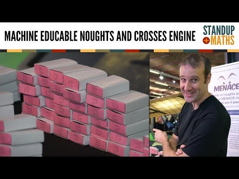 Thumbnail: MENACE: the pile of matchboxes which can learn