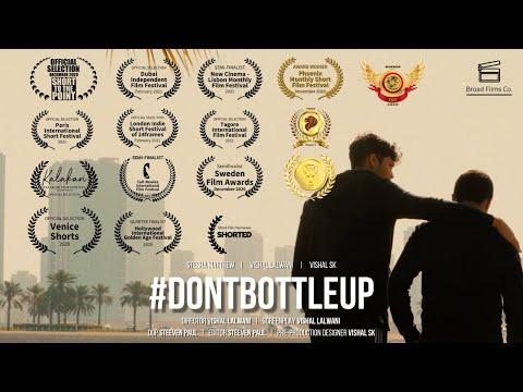 #DontBottleUp   Short Film Nominee