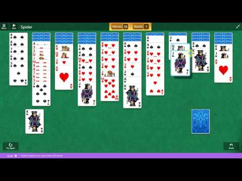 Microsoft Solitaire Collection - Spider - February 13 2017