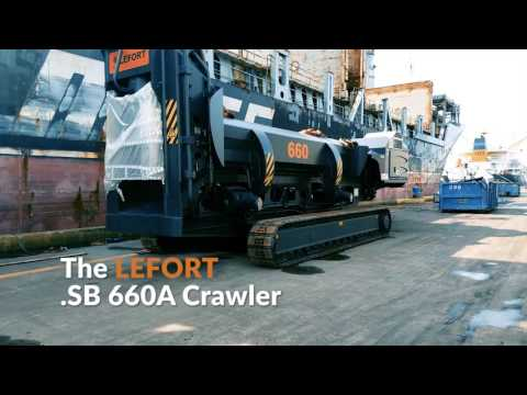 LEFORT America Presents: The LEFORT .SB 660A Crawler  |  ISRI 2017