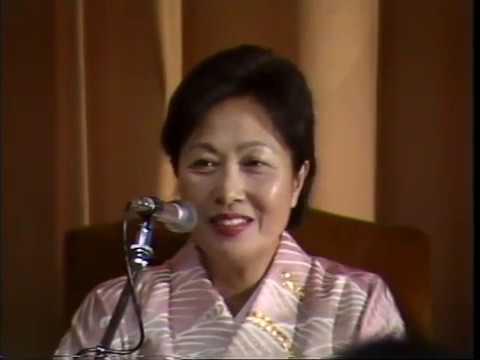 LE MANI SPORCHE DI DIO (1991). Ayako Sono e Armando Verdiglione (Video 1 di 2)