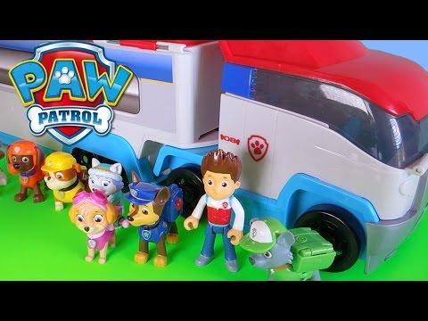 Paw Patrol italiano episodi completi apertura camion  personaggi da cartoni animati  cartoonito