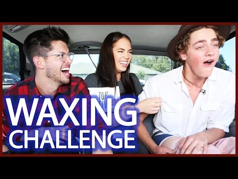 CLAUDIA SULEWSKI WAXES TWO BOYS | CAR WAX w/ Steffan Argus & Hunter March