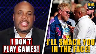 Daniel Cormier REVEALS what he told Jake Paul at UFC 261,Paul REACTS,Ngannou reacts to Usman's win