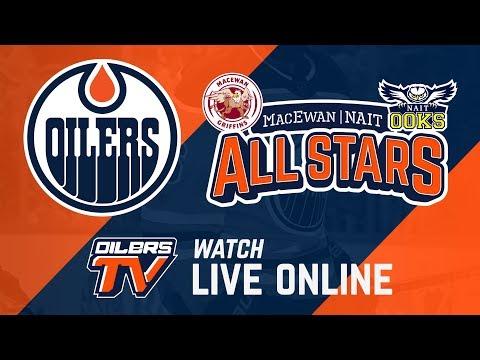 FULL GAME ARCHIVE | Oilers Rookies vs. MacEwan/NAIT All-Stars