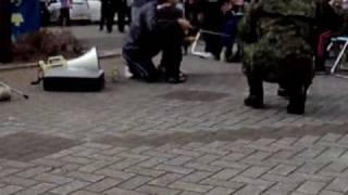 3.11の津波災害~避難所自衛隊の慰問演奏