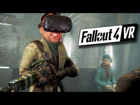 PIP BOY Y SISTEMA DE COMBATE | Fallout 4 VR #2 (HTC Vive Gameplay en Español)
