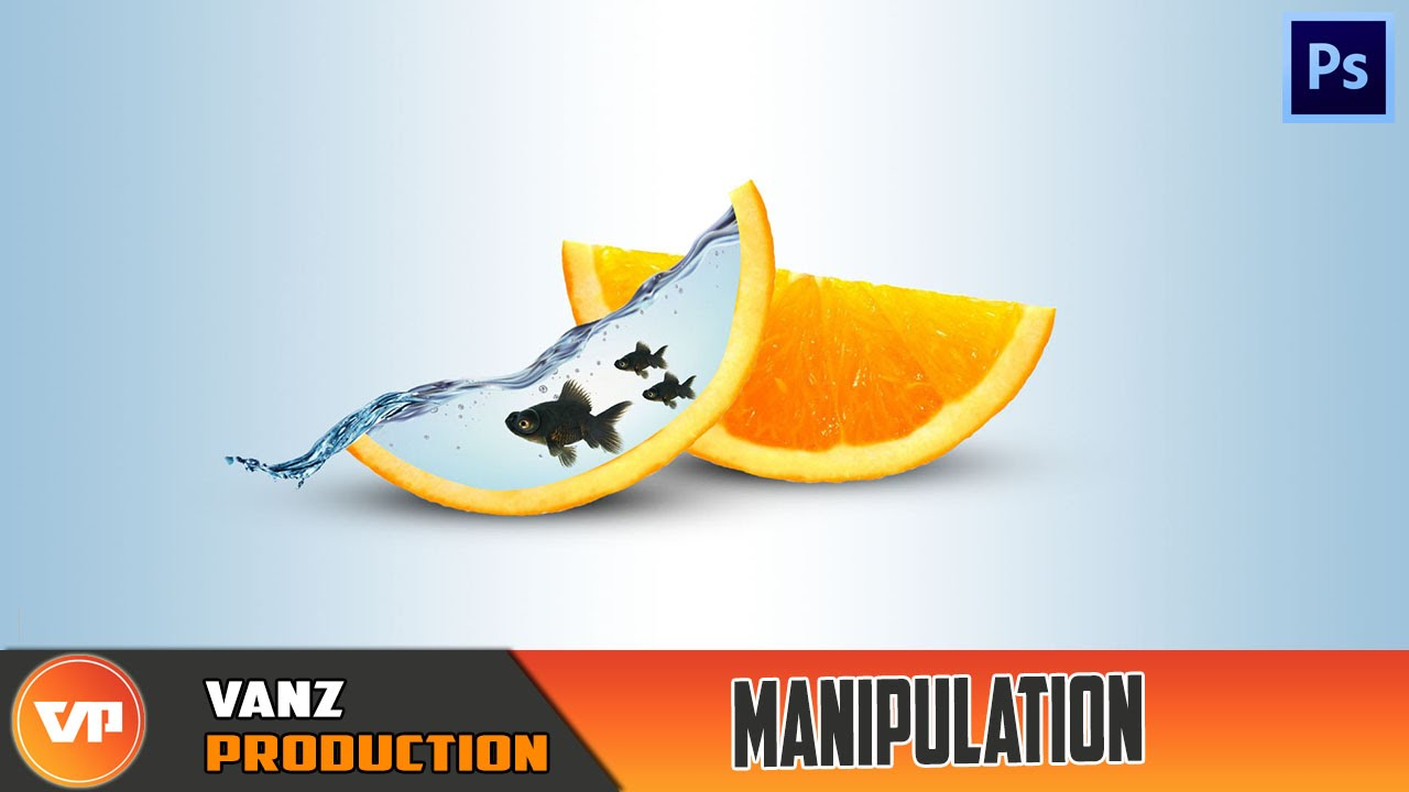 photoshop cara memanipulasi buah dan air manipulation