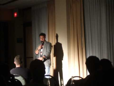 Stand-p Comedian Rocky Whatule at Holiday Inn Palmdale Ca Oct 2012