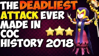 THE DEADLIEST ATTACK EVER MADE: TH9 SUPER STRONG WAR ATTACK STRATEGY 2018 | Clash of Clans