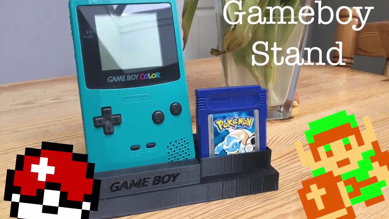 3D Printed Gameboy Stand