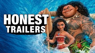 Repeat youtube video Honest Trailers - Moana