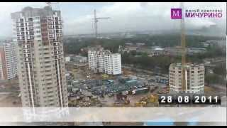 Строительство микрорайона за одну минуту - Ведис Групп