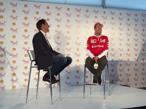 Sebastian Vettel Quiz with Shell ahead of the 2016 Canadian Grand Prix