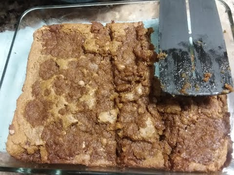 MAKING A COFFEE STREUSEL CAKE WITH SIMPLE INGREDIENTS. Tasty!