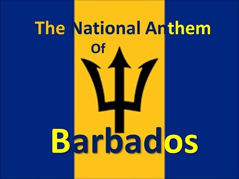 The National Anthem of Barbados Instrumental with Lyrics