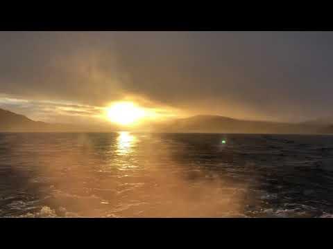 Sunset on Loch Ness, Scotland. Original sound. by #cris2020travel