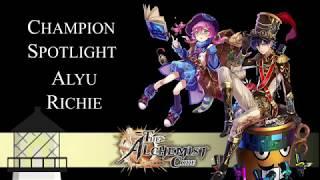 Alchemist Code: Champion Spotlights for Alyu and Richie