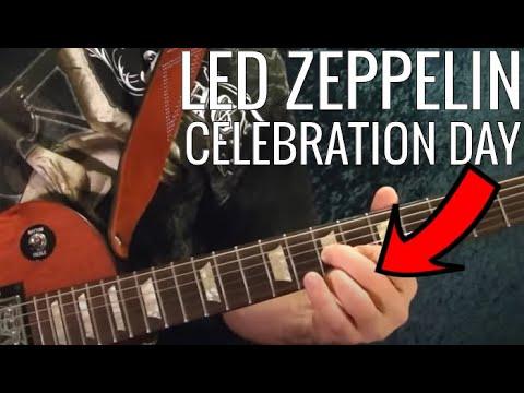 Celebration Day - Led Zeppelin (Tabulatur) serta videonya