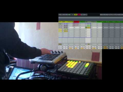 Cool House Mix January 2012 Novation Launchpad + Trigger Finger (Ableton)