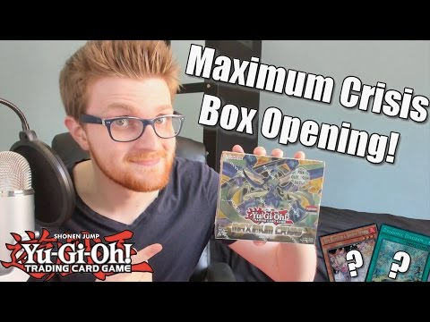 Yu-Gi-Oh! Maximum Crisis Booster Box Opening!