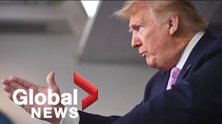 "Coronavirus outbreak: Trump, U.S. Task Force say ""tremendous progress"" being made amid pandemic"