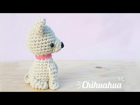 Perrito chihuahua  - Amigurumi (parte 2/2)