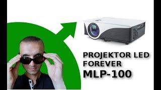 Prezentacja projektor LED Forever MLP-100 (android, wi-fi, hdmi, usb, głośniki)