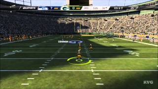 Madden NFL 15 - Seattle Seahawks vs Green Bay Packers Gameplay [HD]