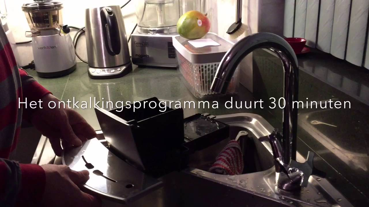 jura espresso app ontkalken en reinigen youtube. Black Bedroom Furniture Sets. Home Design Ideas