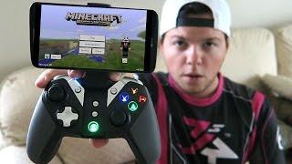THE BEST Minecraft PE Controller! (GameSir G4s Review)