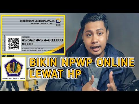 cara-membuat-npwp-online- -cara-daftar-npwp-online