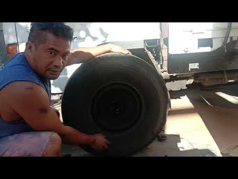 how to install hub bearing or wheel bearing inner outer Isuzu elf 4be1 engine