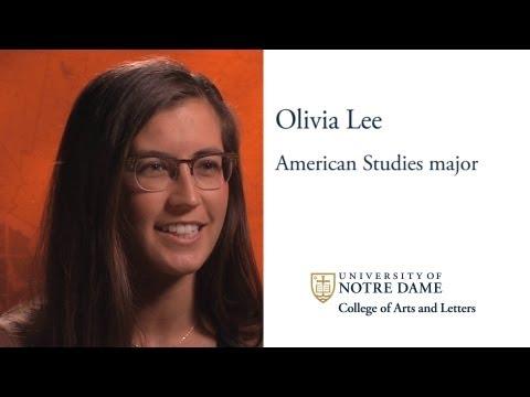 American Studies Student Profile: Olivia Lee