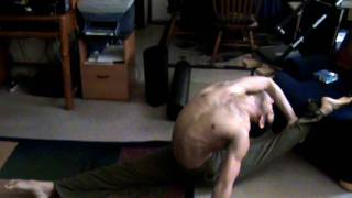 Contortion Handstands and Oversplits Training 2008 to 2009