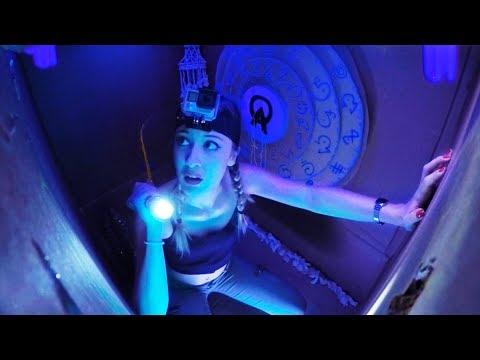 BOX FORT ESCAPE ROOM **FUGA DA ATLANTIDE** Valentina Lattanzio ft. Luca and Katy